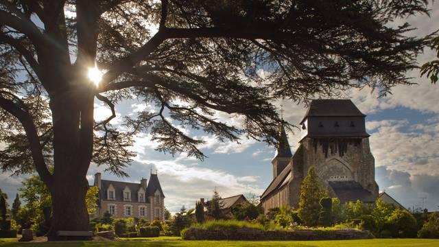 Le prieuré d'Orchaise. © Leonard de Serres