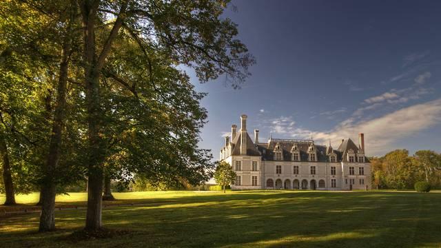 Château de Beauregard dans la vallée de la Loire