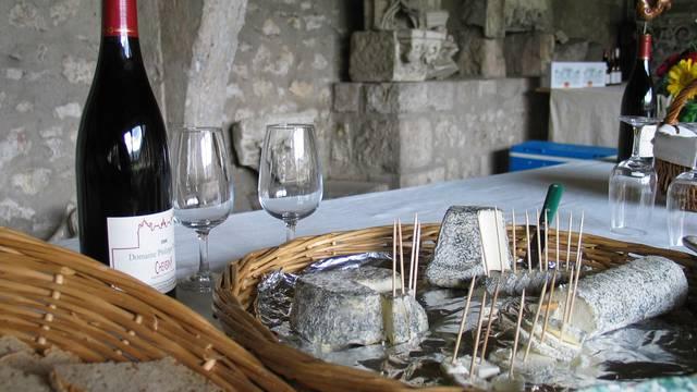 Vin et fromages du Val de Loire