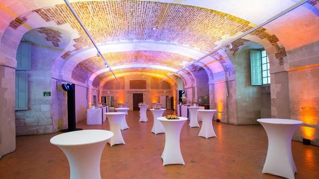 La salle des conférences du château royal de Blois