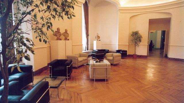 La salle Rotonde du château royal de Blois