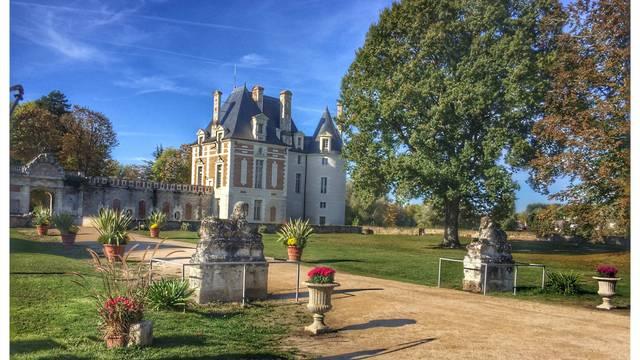 Le château de Selles-sur-Cher. © OTBC