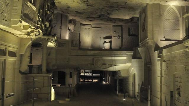 La cave des Roches à Bourré. © DR