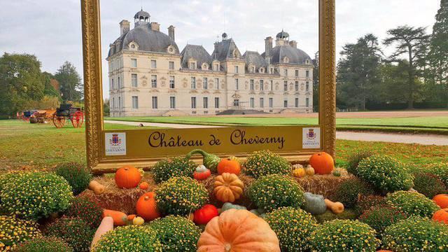 Château de Cheverny à l'automne