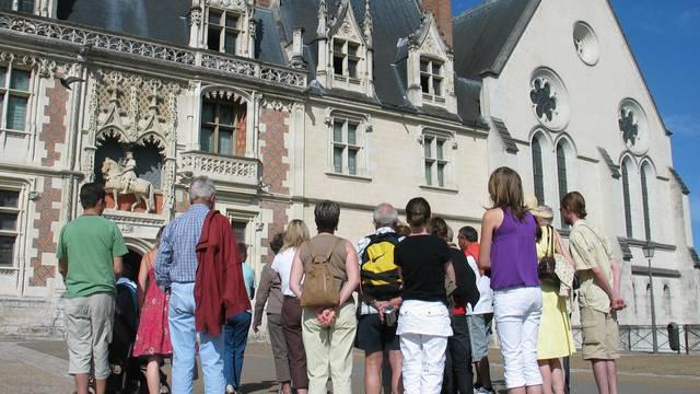 Place du château de Blois. © OTBC