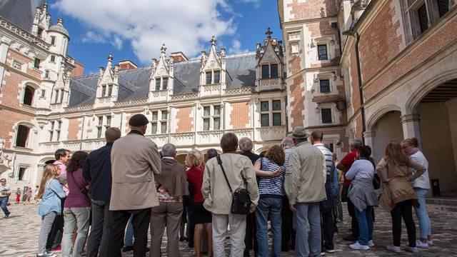 Visite au château Royal de Blois