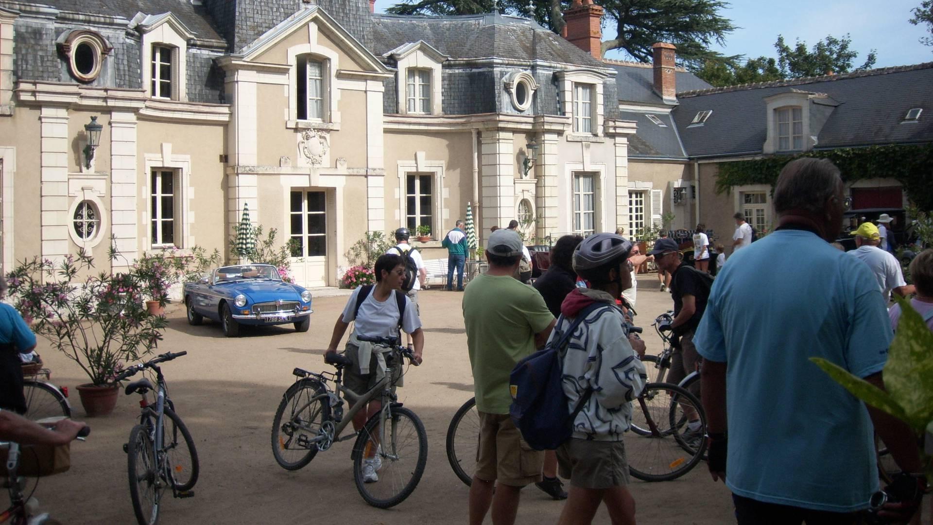 La fête du vélo en Val de Loire. © OTBC