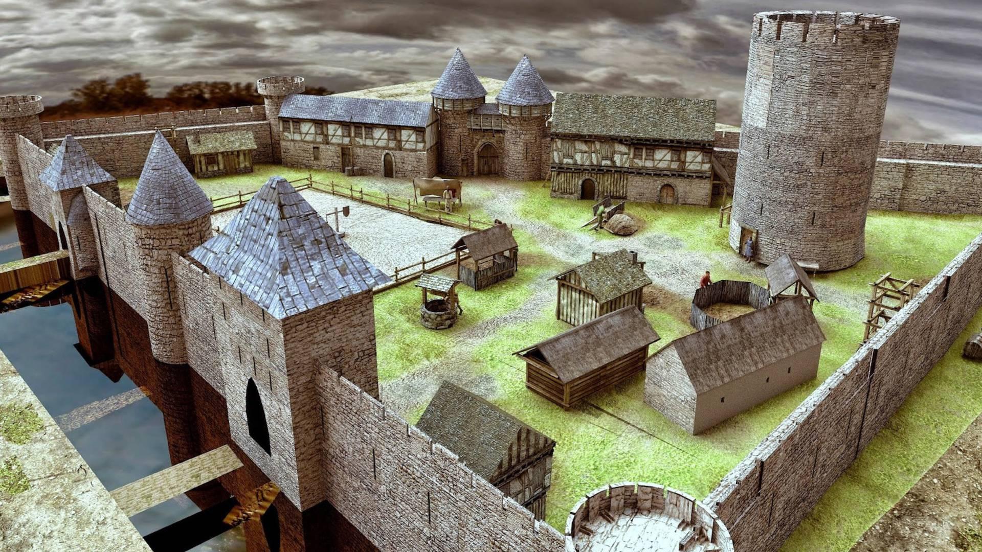 Le château de Selles-sur-Cher en 3D