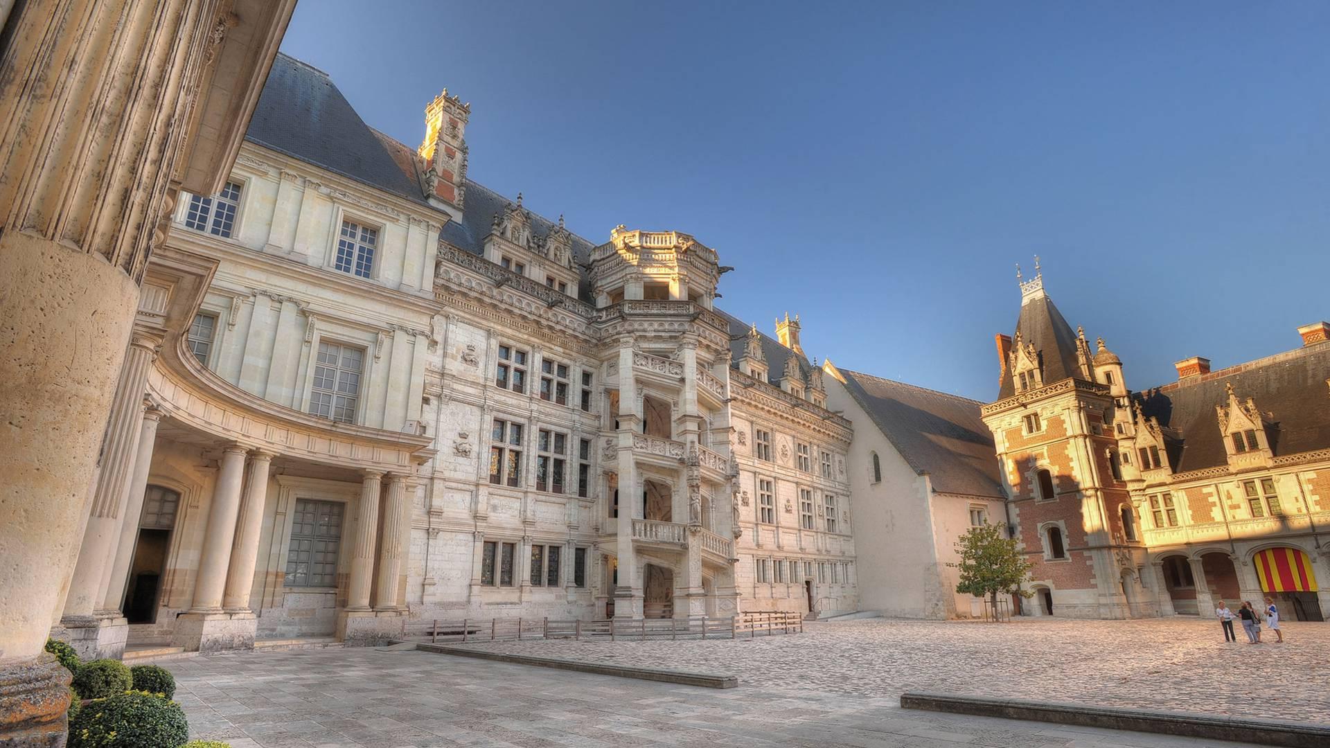 Château de Blois, escalier François 1er