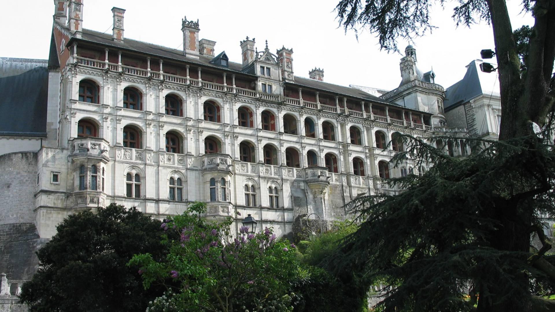 L'aile François Ier du château royal de Blois
