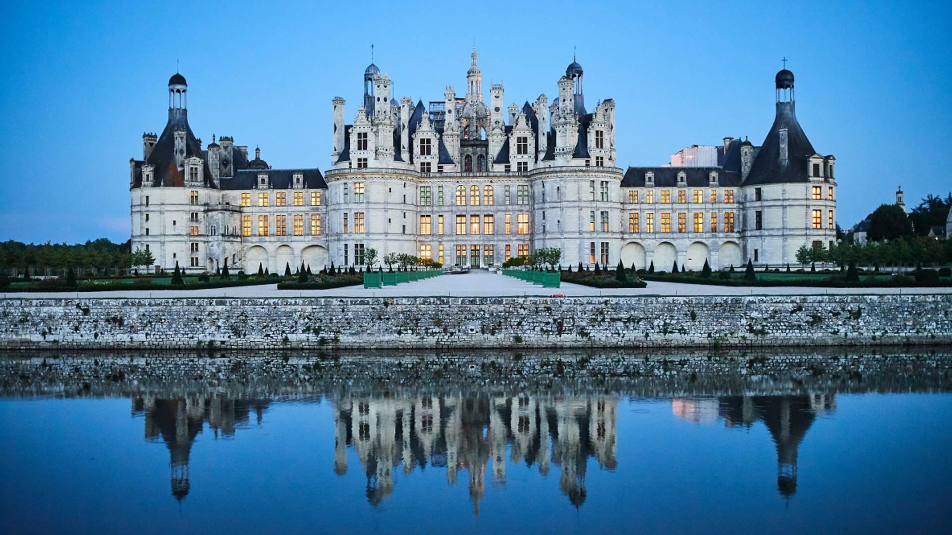 Miroir à Chambord
