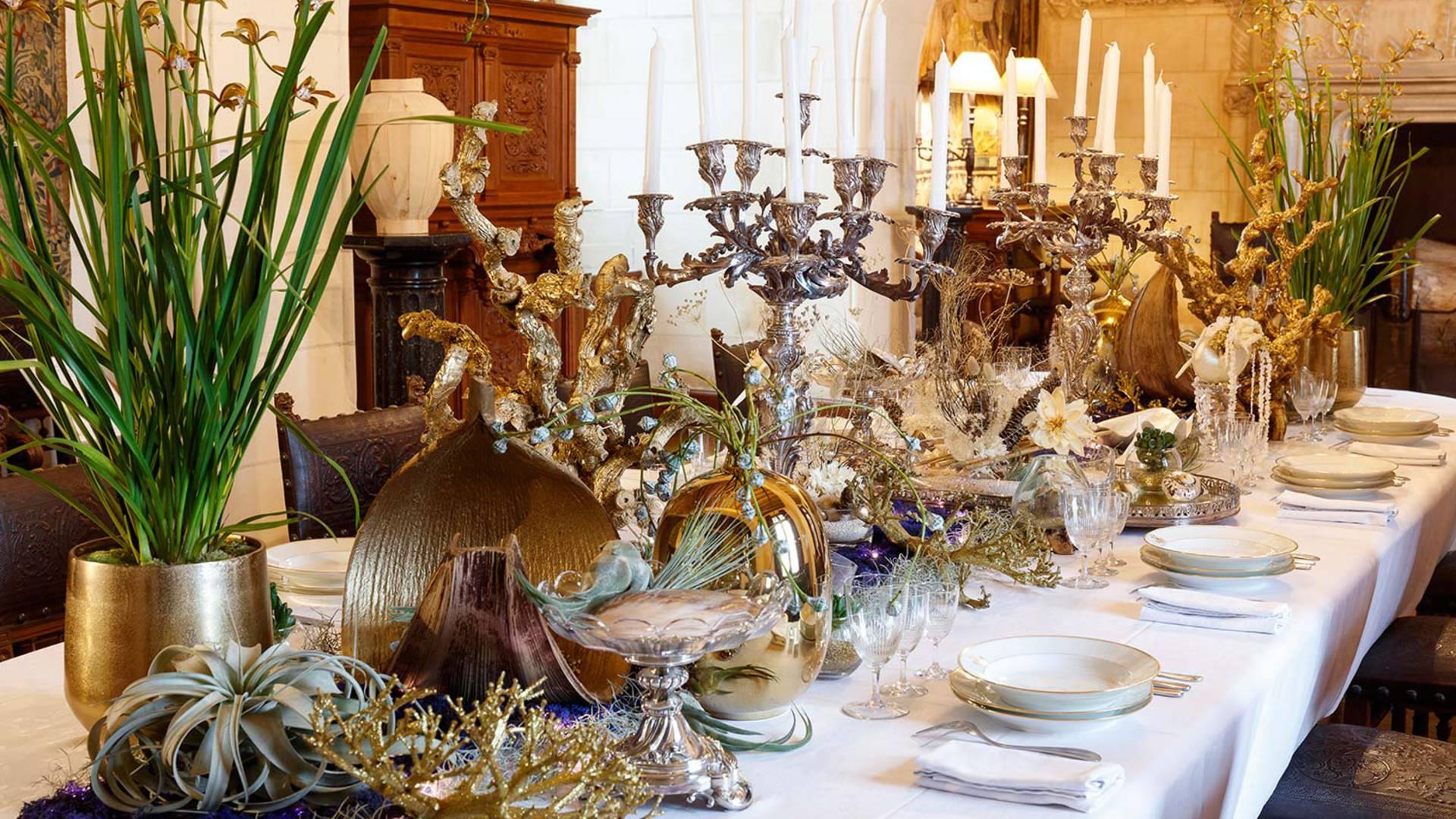 Ambiance de fête au Château de Chaumont