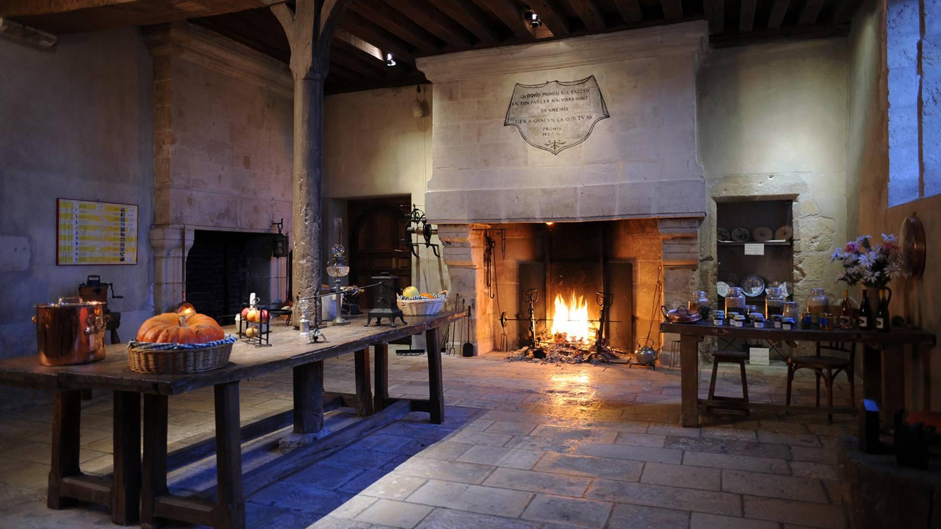 Cuisine du Château de Beauregard
