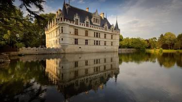 Le château d'Azay le Rideau. © Léonard de Serres