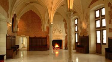 La salle du Conseil au château d'Amboise. © JF Le Scour