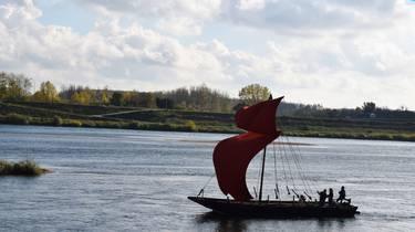 Bateau sur la Loire. © OTBC