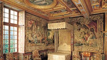La chambre du roi au château de Cheverny. © OTBC