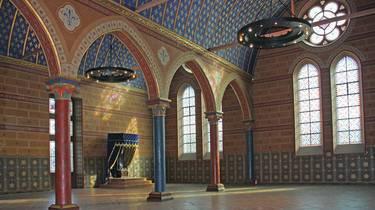 La salle des Etats Généraux du château de Blois. © OTBC