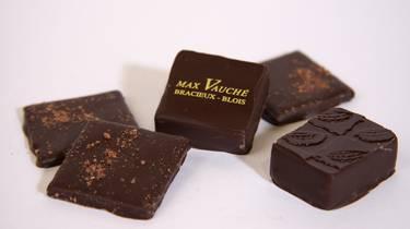 Les chocolats de Max Vauché. © OTBC