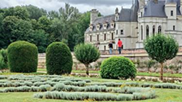 Jardins au château de Chenonceau