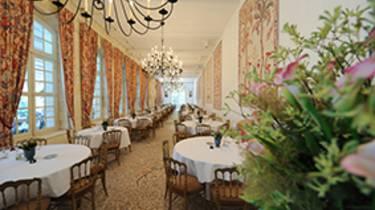 Salle du restaurant du château de Chenonceau©BriqEcliptique