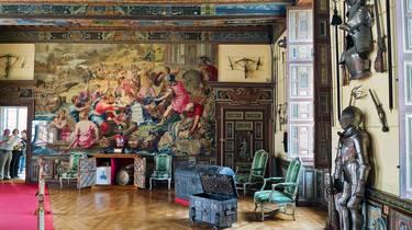 La salle des armes du château de Cheverny. © Tere Pedro