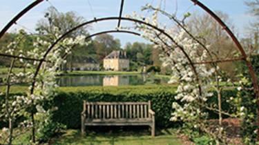 Jardin du Plessis Sasnières à Vendôme