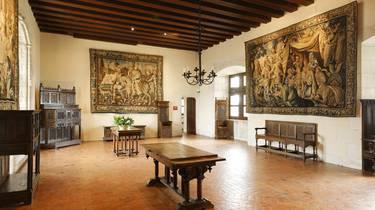 La salle de l'échanson au château d'Amboise. © Stevens Fremont