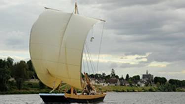 Promenade en bateau sur la Loire. © OTBC