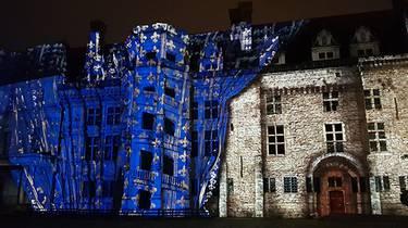 Nouveau Son et Lumière au château de Blois © Leguere