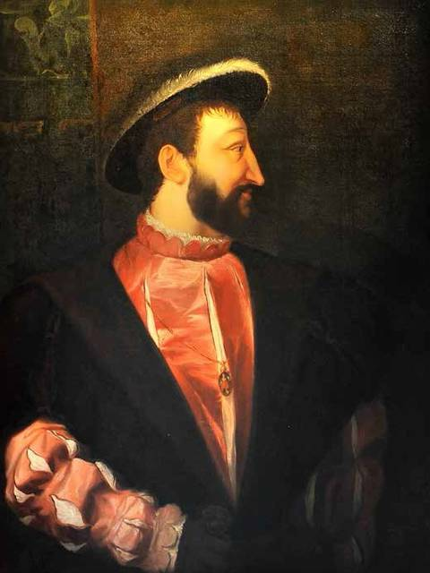 Portrait de François Ier par Pierre Dupuis.