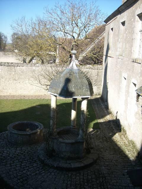 La cour d'honneur du château de Talcy où se rencontrèrent Pierre et Cassandre. © OTBC