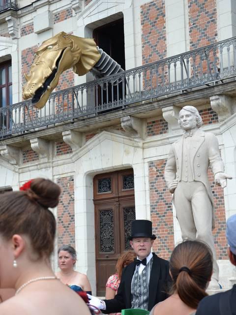 Visite de Blois avec Cap-Découvertes © OTBC
