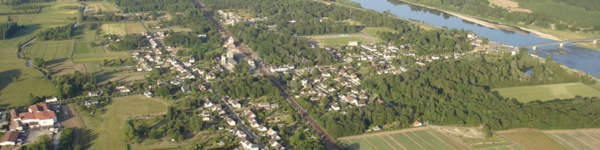 Vallée de la Loire village d'Onzain