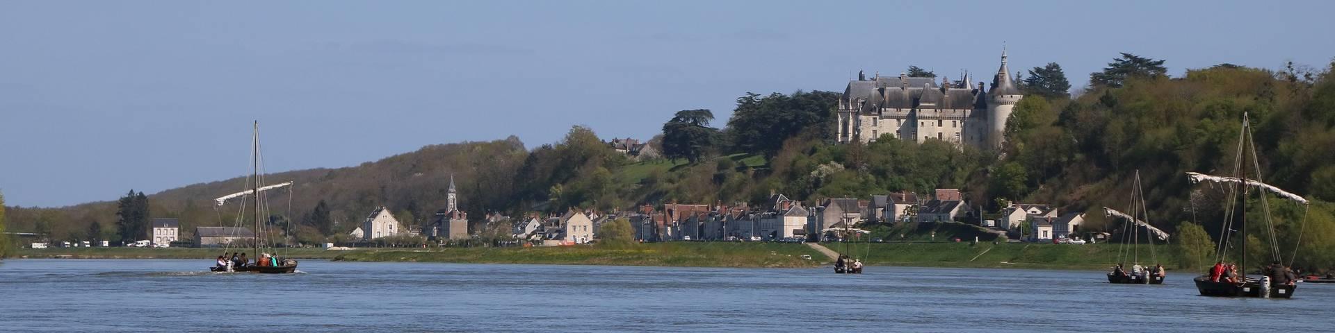 Les bords de Loire à Chaumont. © OTBC