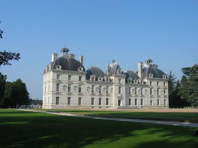 Le château de Cheverny qui inspira Hergé pour Moulinsart. © DR