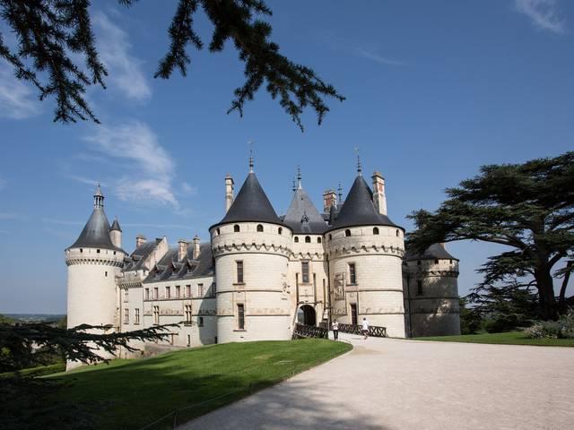 L'entrée du château de Chaumont. © Thierry Bourgoin