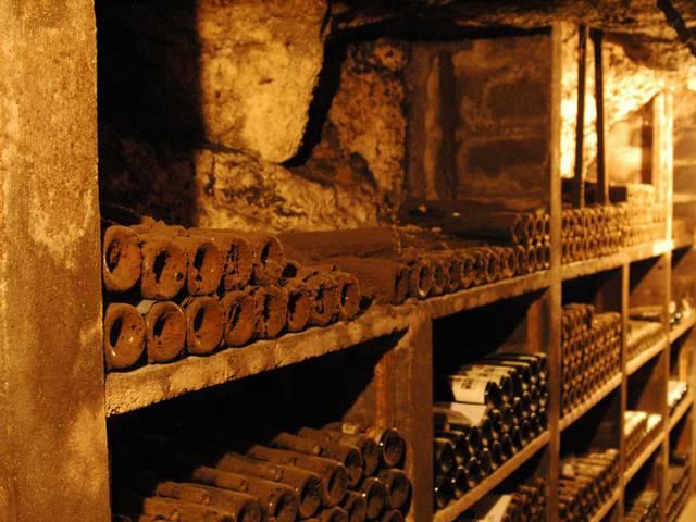 La Cave du Père Auguste dans le Val de Loire. © OTBC