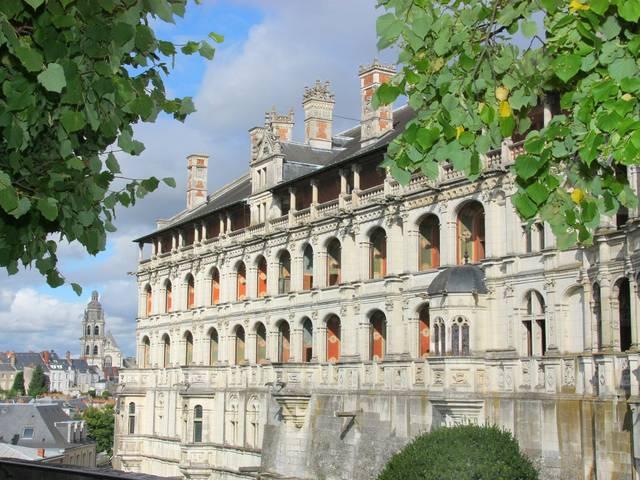 L'Aile François Ier du château de Blois. © OTBC