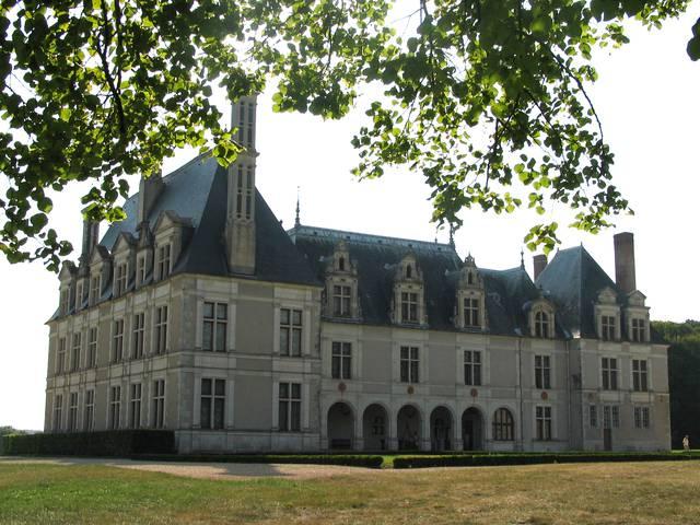 Le château de Beauregard. © OTBC