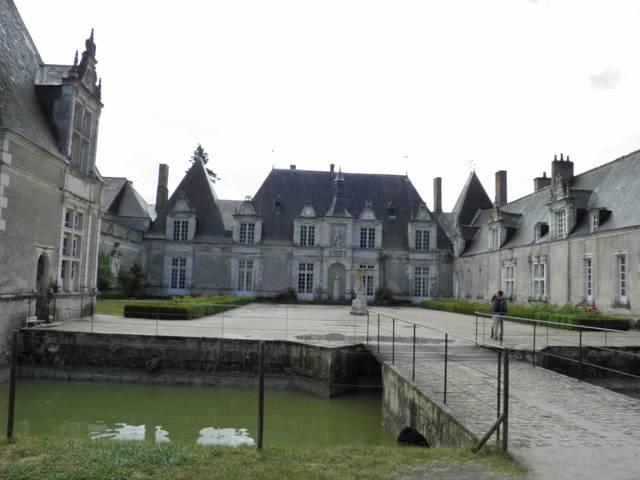 Le château de Villesavin. © OTBC