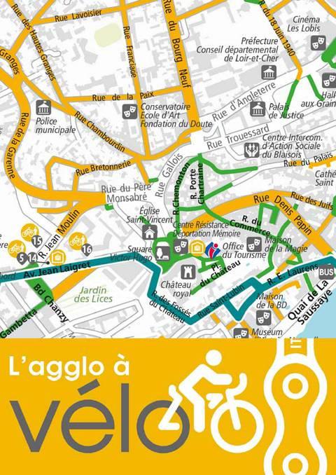 Faire du vélo à Blois et son agglo