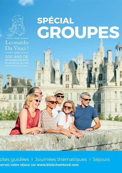 Catalogue spécial Groupes 2019 - ENGLISH