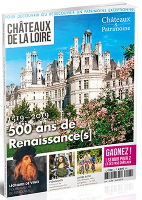 Le magazine châteaux de la Loire 2019