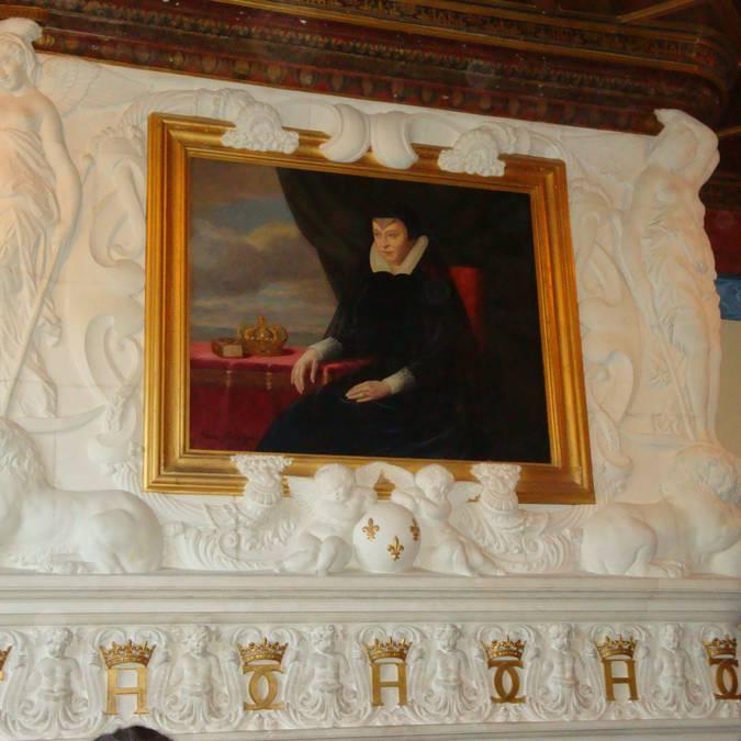 Portrait de Catherine de Medicis à Chenonceau