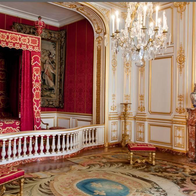 Intérieur au château de Chambord