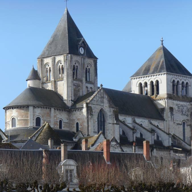 La collégiale de Saint-Aignan