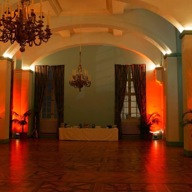 La salle Korevo du château royal de Blois à vide