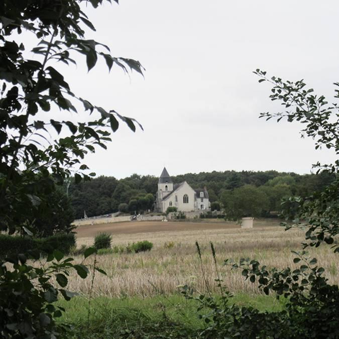 Vallée de la Cisse Eglise St Secondin Molineuf