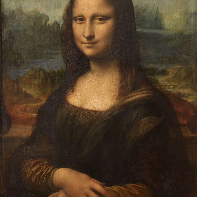 La célèbre Mona Lisa de Léonard de Vinci.